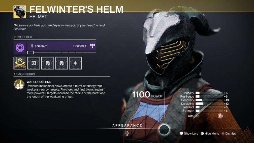 Felwinter's Helm