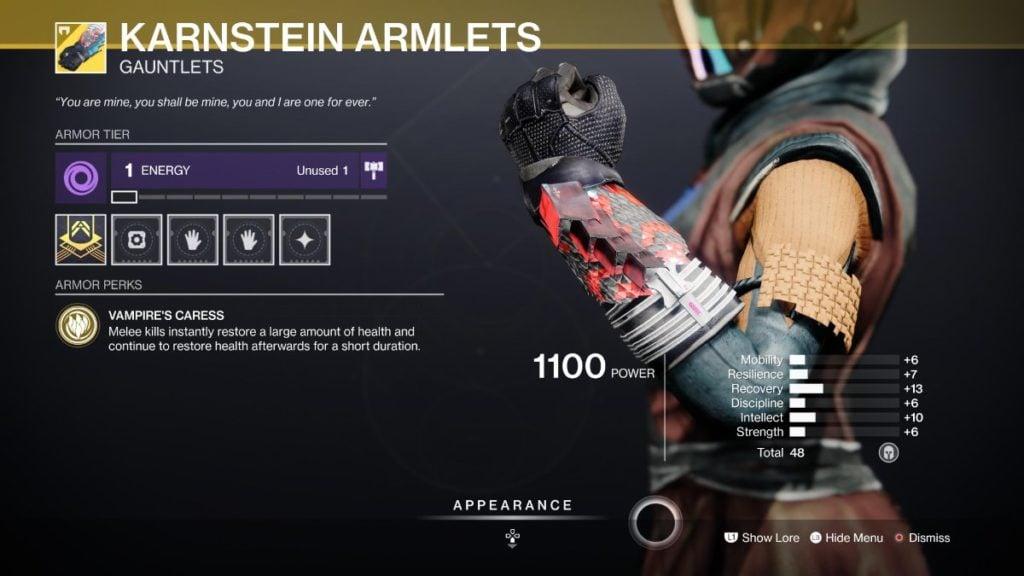 Karnstein Armlets