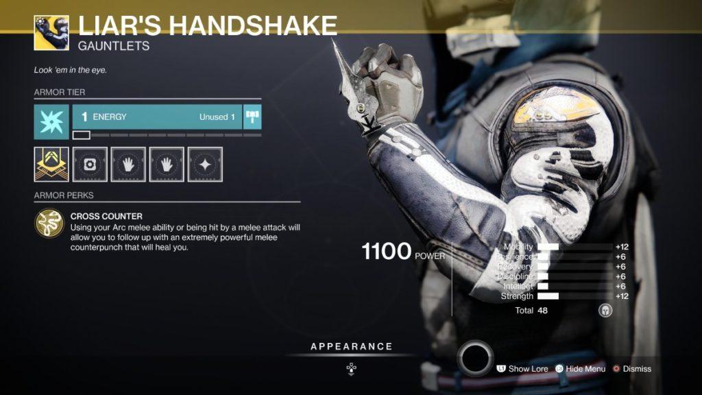 Liar's Handshake