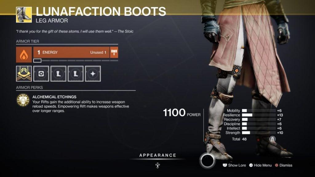 Lunafaction Boots