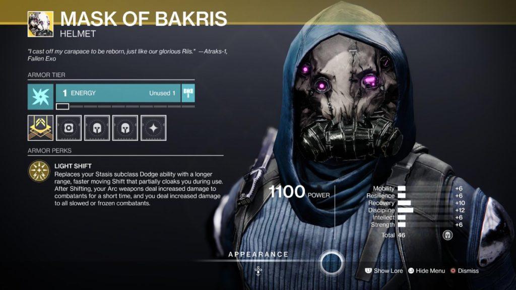 Mask of Bakris