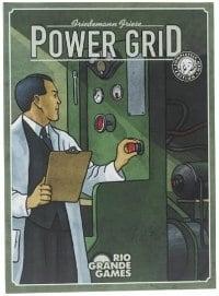 Power Grid - Best 5-Player Board Games