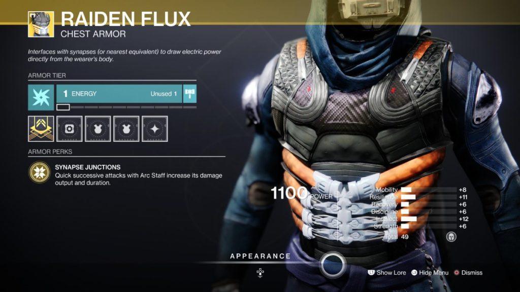 Raiden Flux