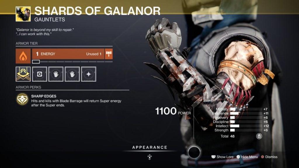 Shards of Galanor