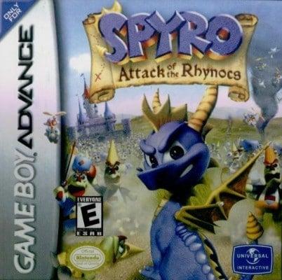 Spyro Attack of the Rhnocs