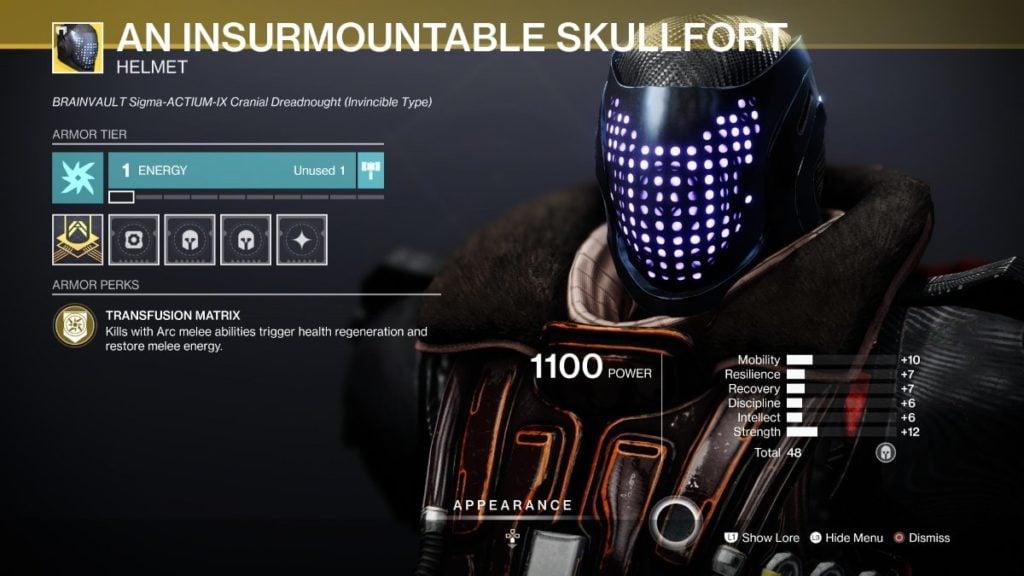 The Insurmountable Skullfort
