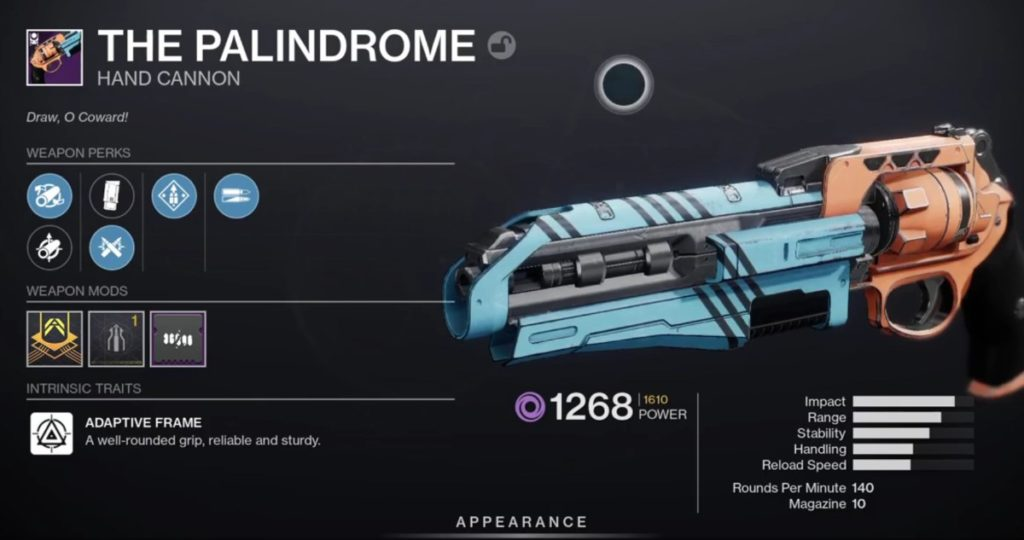 The Palindrome