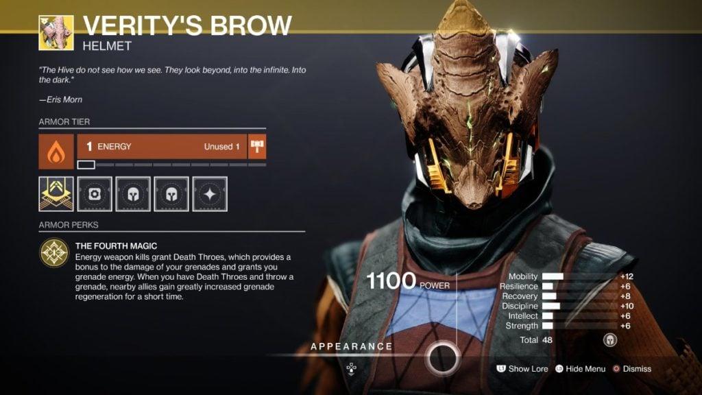 Verity's Brow