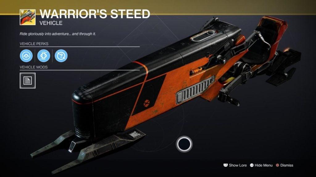 Warrior's Steed