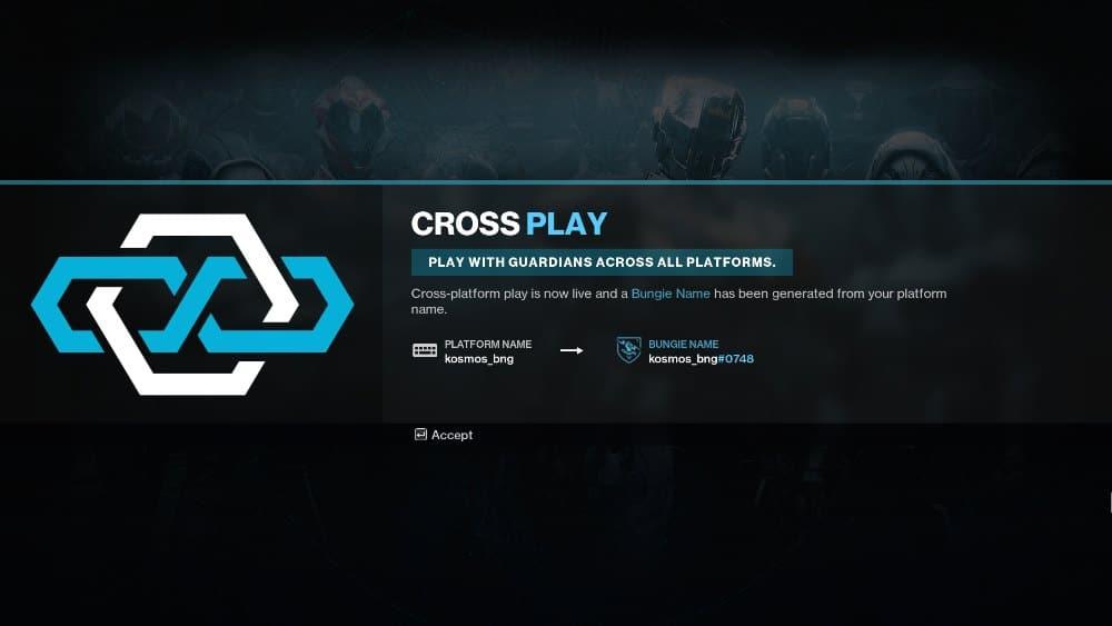 Cross Play UI