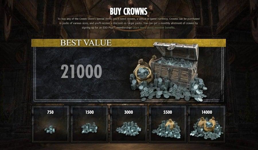 Crowns ESO