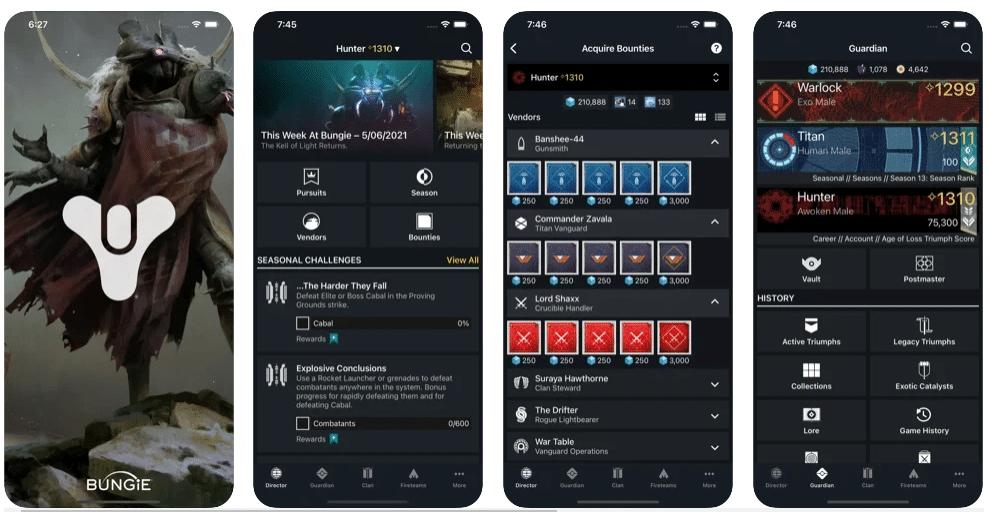 Destiny 2 Companion App