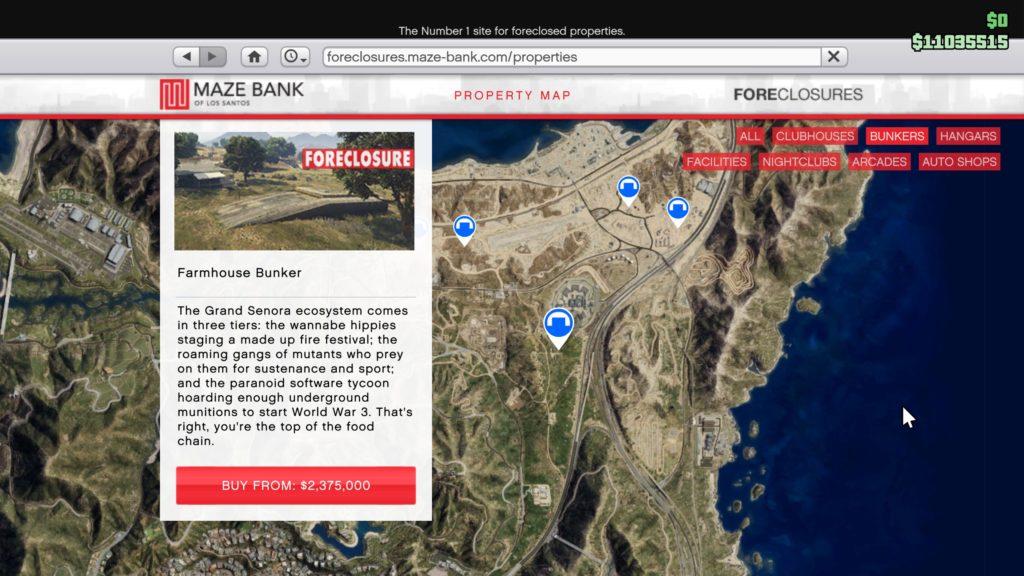 GTA Online Maze Bank - Acquire a Bunker