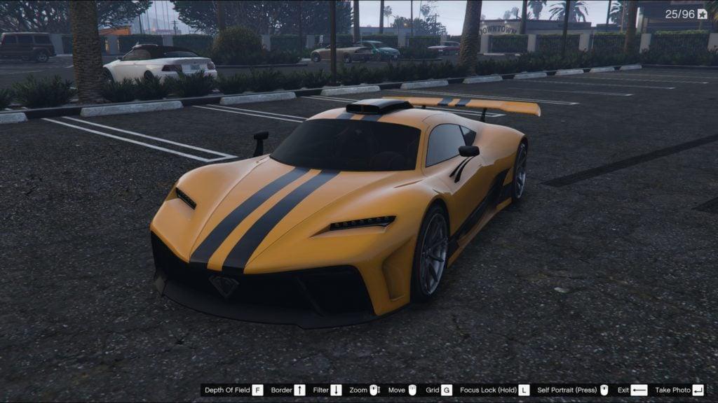 Benefactor Krieger Super Car