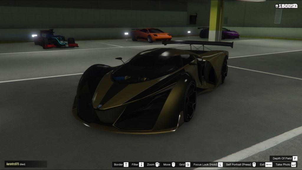 X80 Proto Super Car