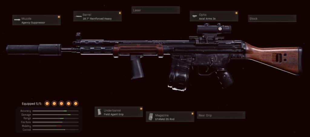 C58one of the best ars in Warzone