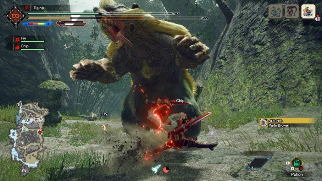 Demon Flurry Rush - Dual Blade Switch Skill