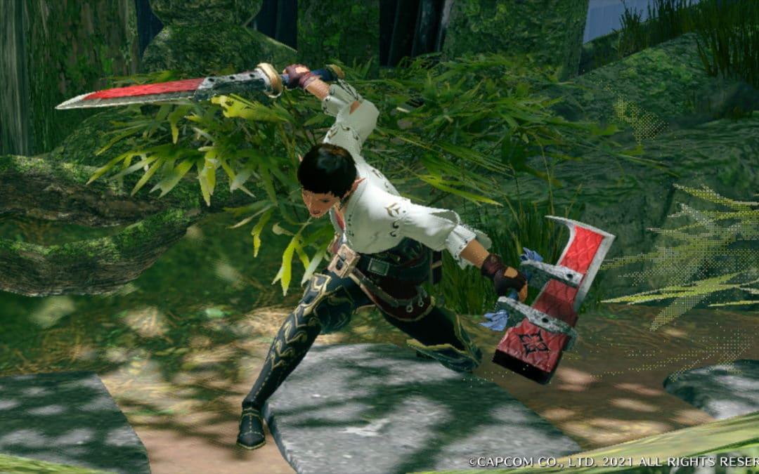 MHR Dual Blade Switch Skills