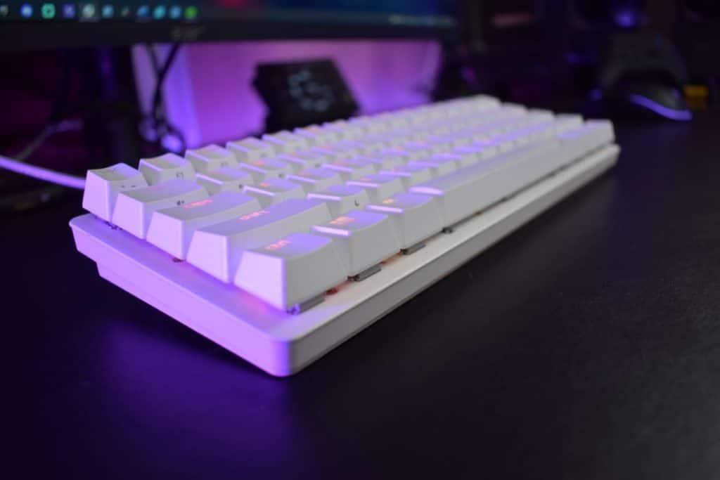 Razer Huntsman Mini Keyboard Review 6 side profile