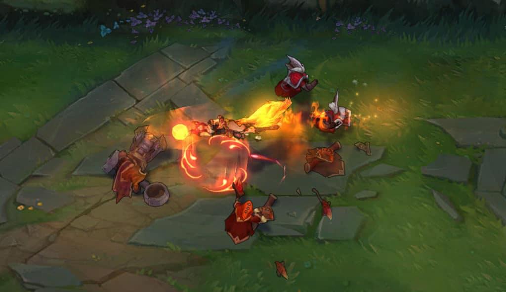 Foxfire Ahri Skin 2