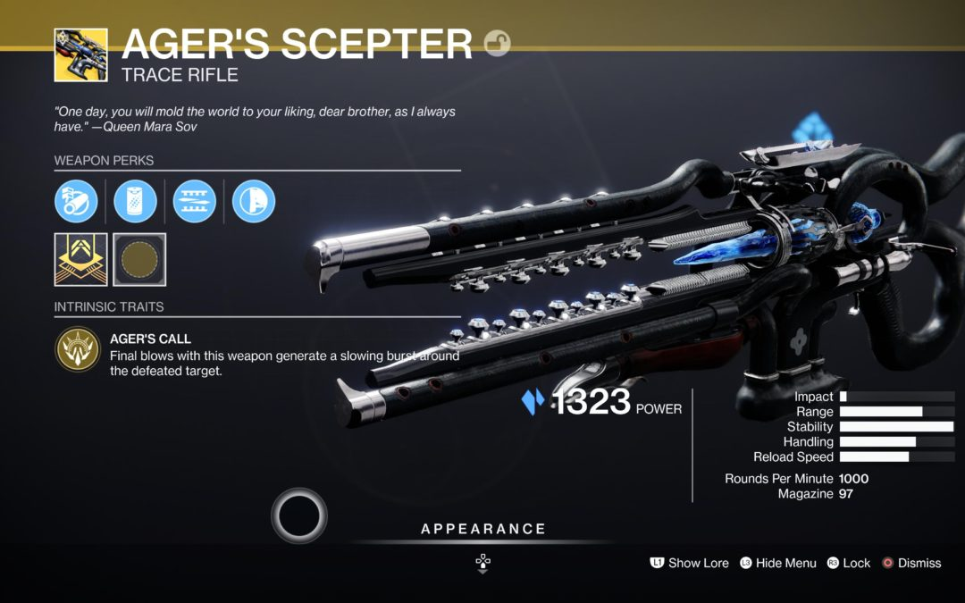 Destiny 2: How to Unlock Ager's Scepter Exotic Trace Rifle (Complete Questline)