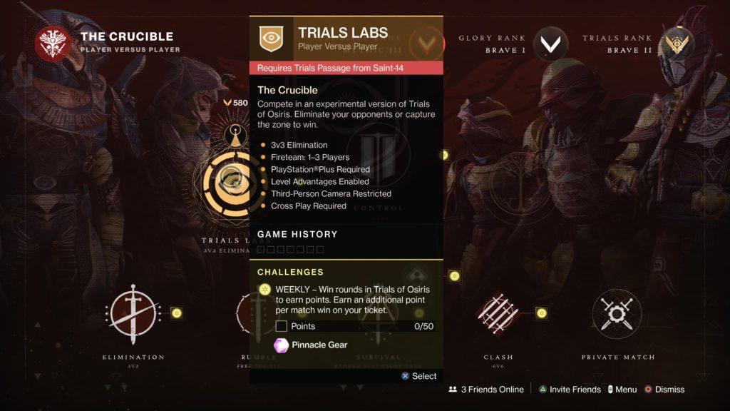 Trials of Osiris update