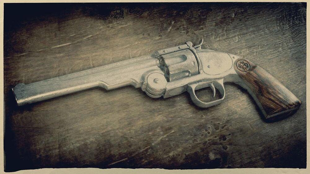 Red Dead Online Schofield Revolver