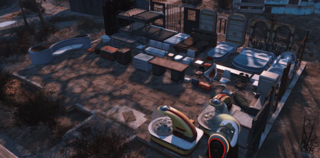 Settlement Supplies Expanded Mod