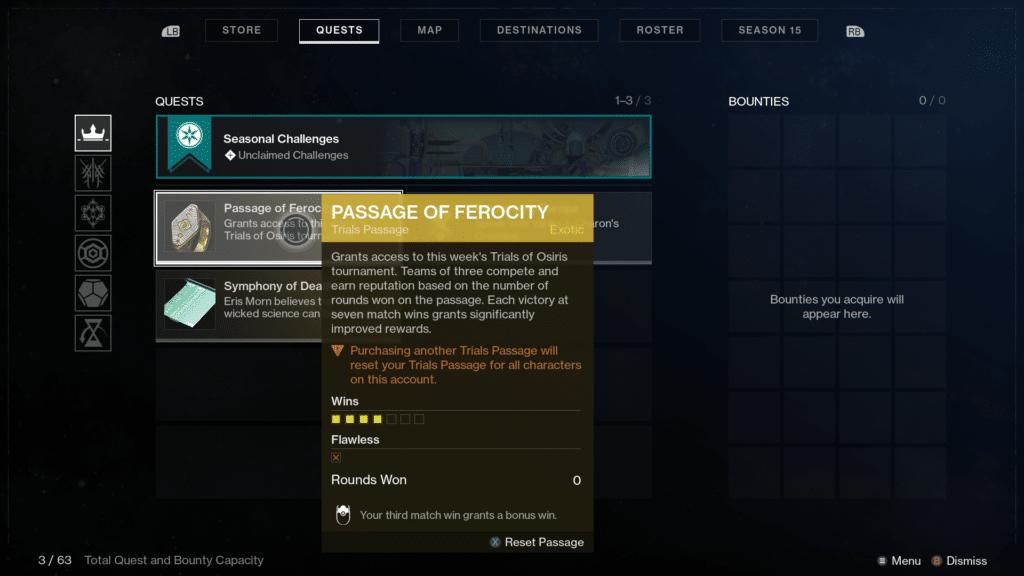 Passage of Ferocity