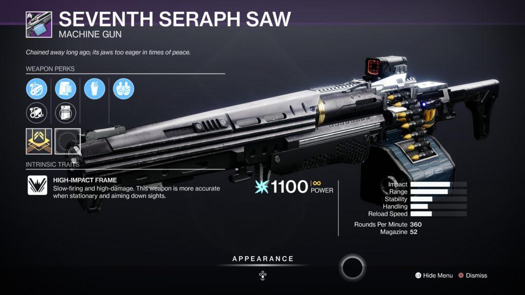 Seventh Seraph SAW
